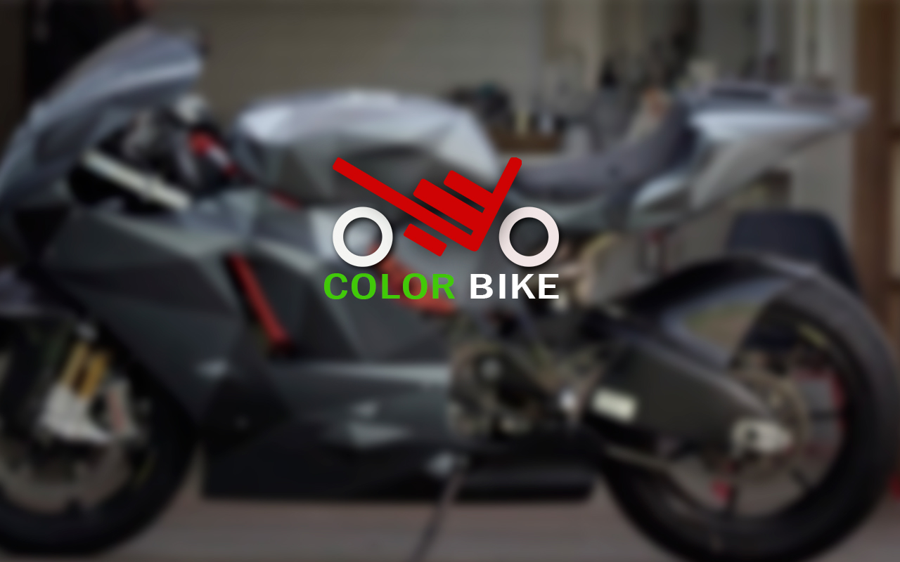 Логотип для компании по покраске мотоциклов